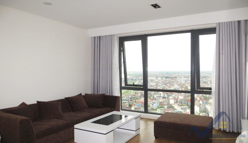 Long Bien apartment for rent in Mipec Riverside 2 bedrooms furnished
