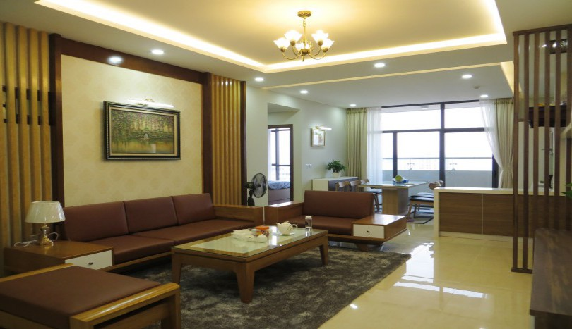 Luxurious 3 bedroom apartment in Trang An Complex furnished to rent