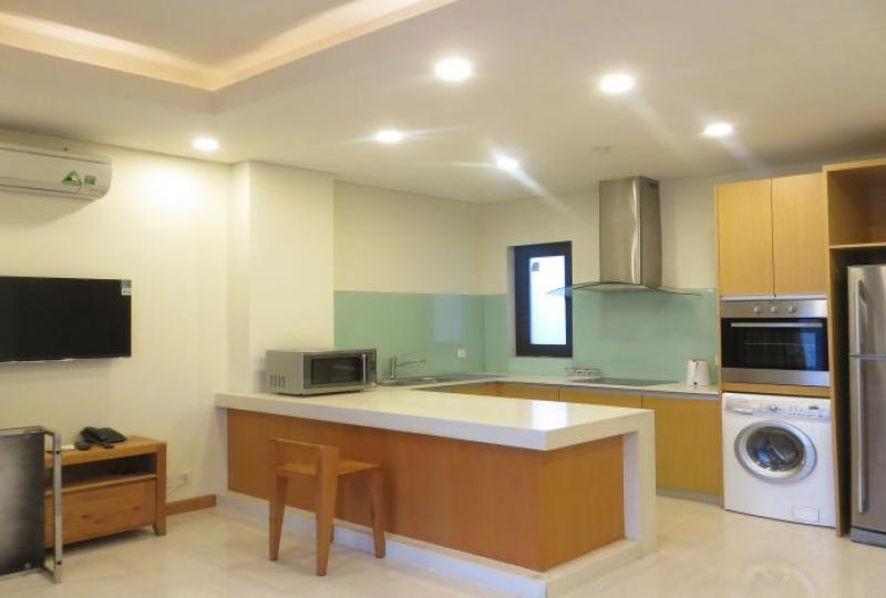 Luxurious furniture for 1 bedroom apartment to rent in Tay Ho