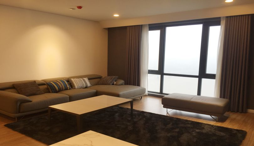 Mipec Long Bien 3 bedroom apartment to rent with River view