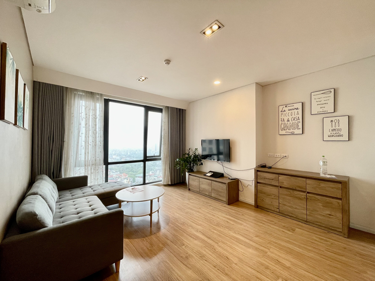 Mipec Long Bien apartment rent with 2 bedrooms, 2 bathrooms
