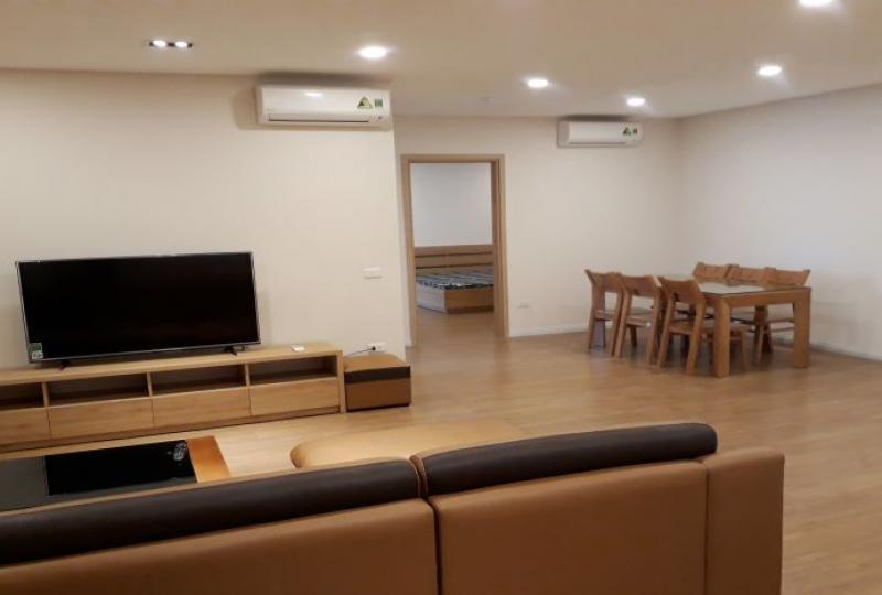 Mipec Riverside 3 bedroom apartment to rent with fully furnished