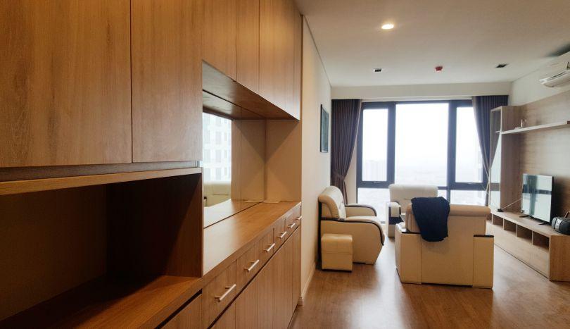 Mipec Riverside Long Bien 2 bedroom apartment for rent with furnished