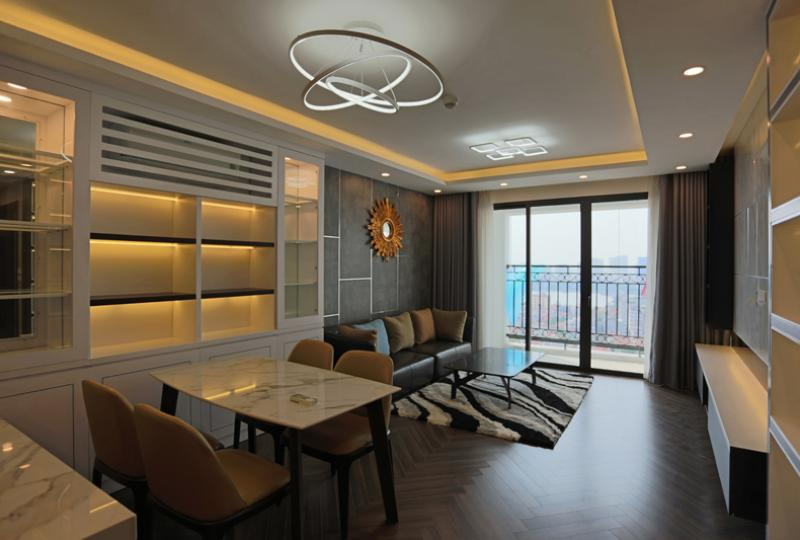 Modern 3 bedroom apartment at D Le Roi Soleil Hanoi to rent