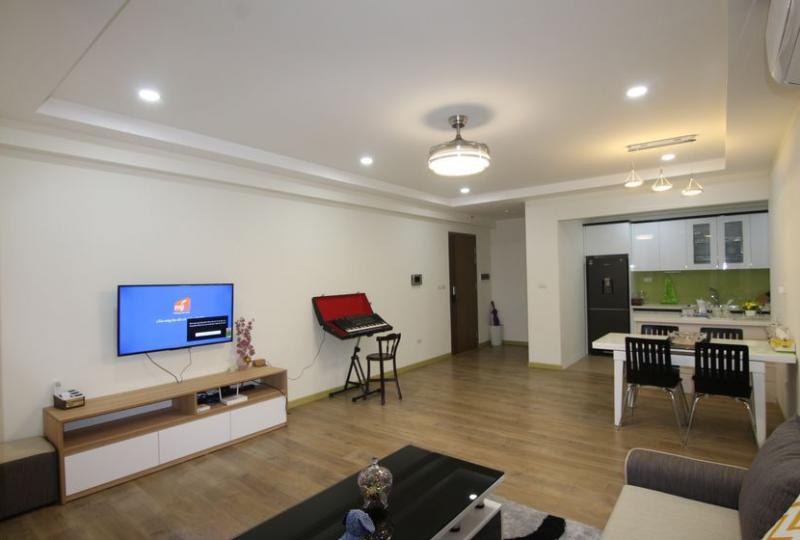 Modern furnished 03 bedroom apartment rental in Ecolife Tay Ho