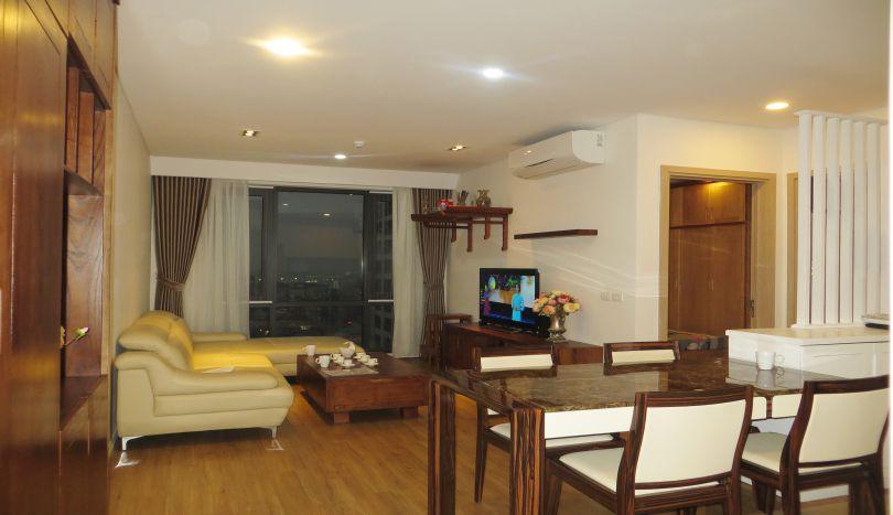 Modern furnished 2 bedroom apartment for rent in Mipec Riverside