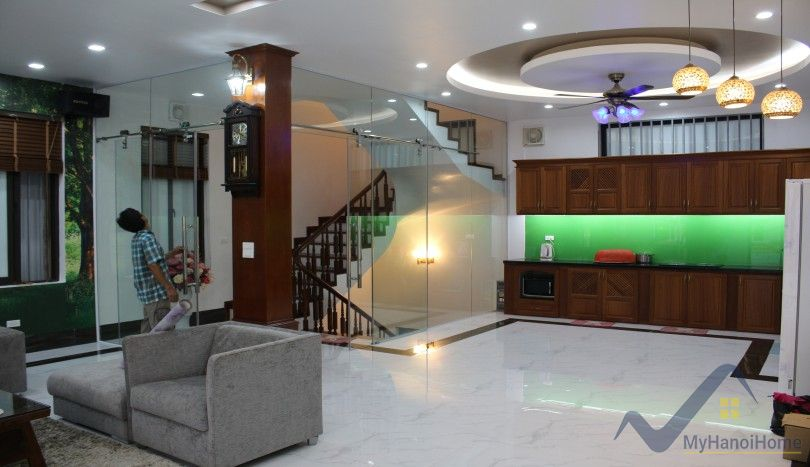 Modern furnished Tay Ho house for rent with 5 bedrooms