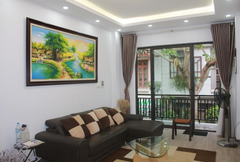 Modern house for rent in Ngoc Thuy Long Bien Hanoi