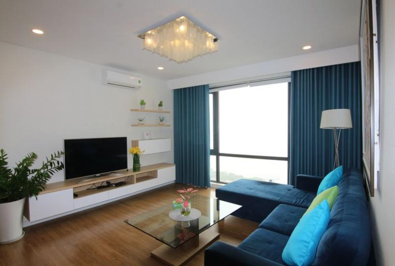 Modern Mipec Riverside apartment rent with 3 bedrooms furnished
