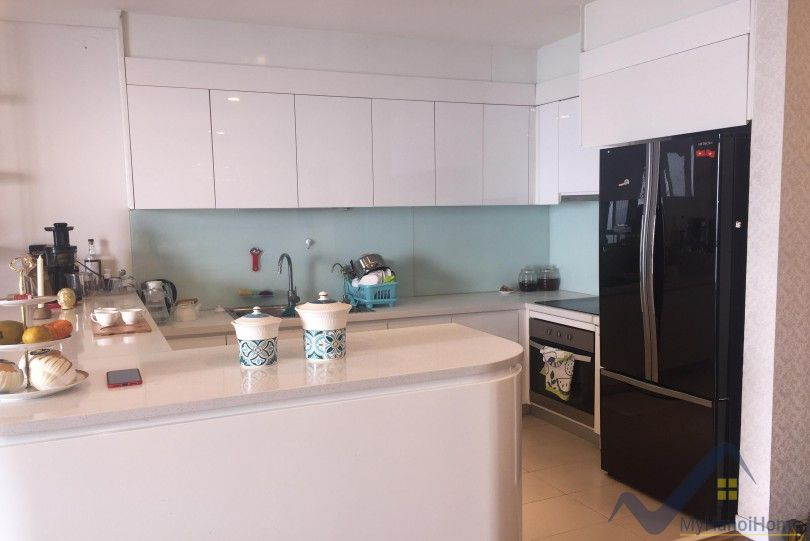 Modern Mipec Riverside rent with 2 bedroom apartment River view