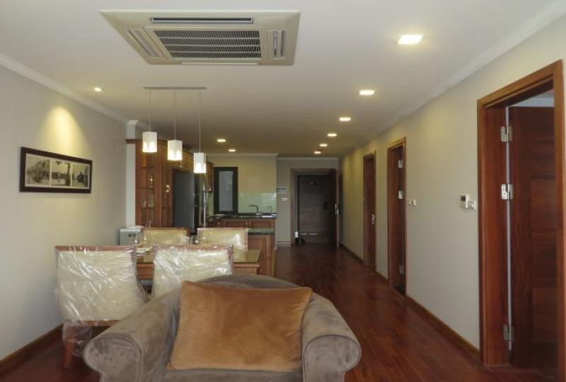 Natural bright view 02 BDR serviced apartment for rent in Tay Ho