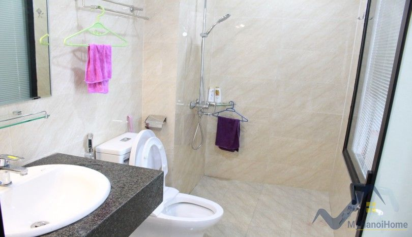 New bright one bedroom apartment on Xuan Dieu street Tay Ho