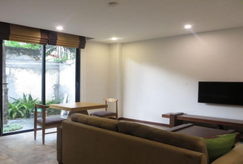 New development 1 bedroom apartment on Xuan Dieu street for rent