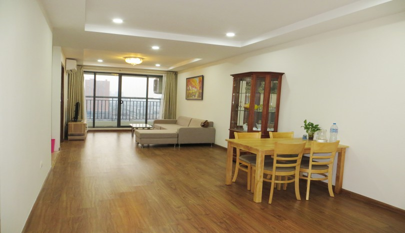 New furnished two bedroom apartment in Ecolife Tay Ho for rent