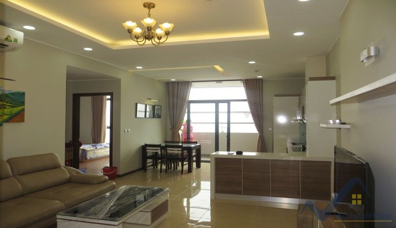 New Trang An Complex apartment for rent with 02 beds 82m2