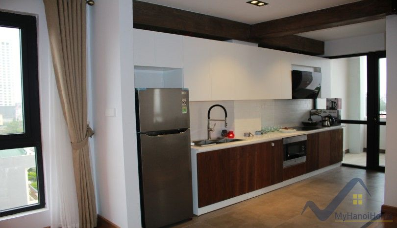 New two bedrooms apartment to rent in Tay Ho high floor
