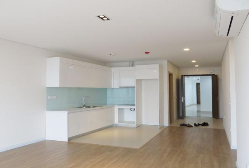 Newly unfurnished 2 bedroom apartment for rent in Mipec Riverside