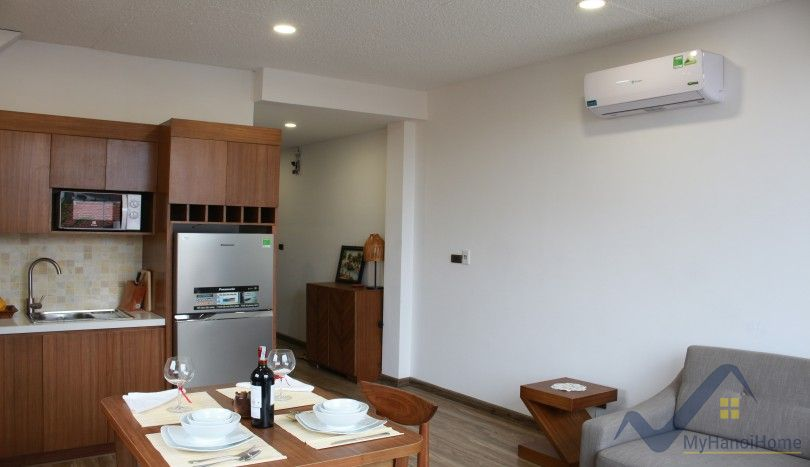 Nghi Tam village one bedroom apartment for rent near Sheraton hotel