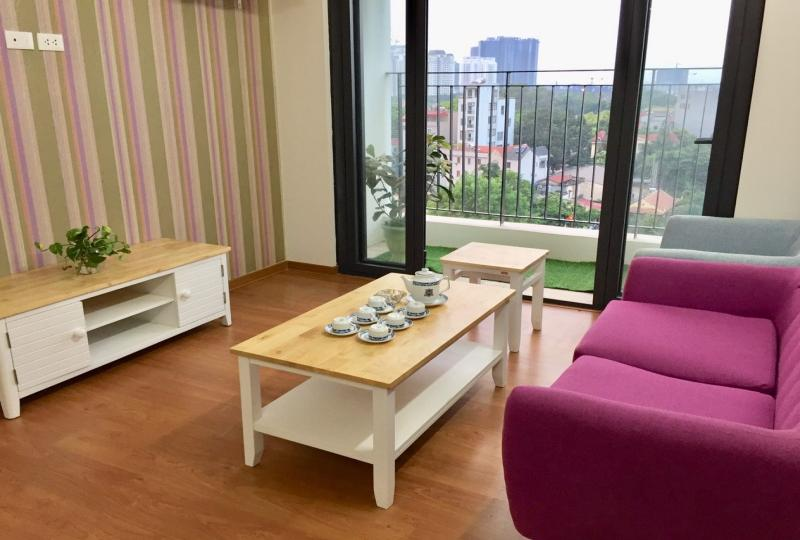 Ngoai Giao Doan complex 2 bedroom apartment furnished