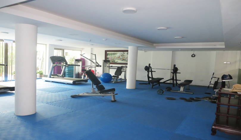 Nice furnished bedroom apartment on xuan dieu to rent gym