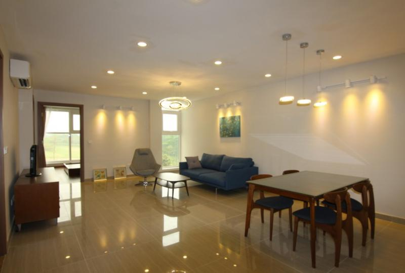 Nice view 3BR apartment to lease at L4 tower Ciputra Hanoi