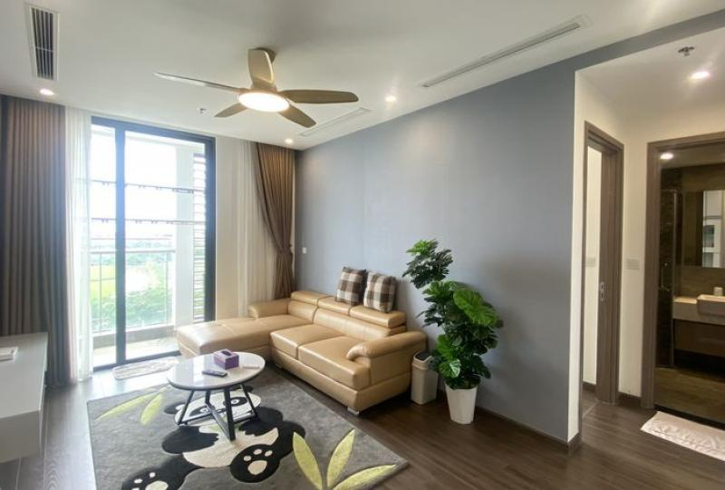 Open view apartment in Vinhomes Symphony to rent with 3 bedrooms