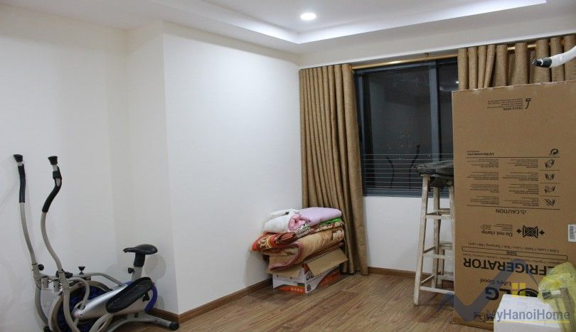 Partly apartment in Ecolife Tay Ho with 03 bedrooms for rent
