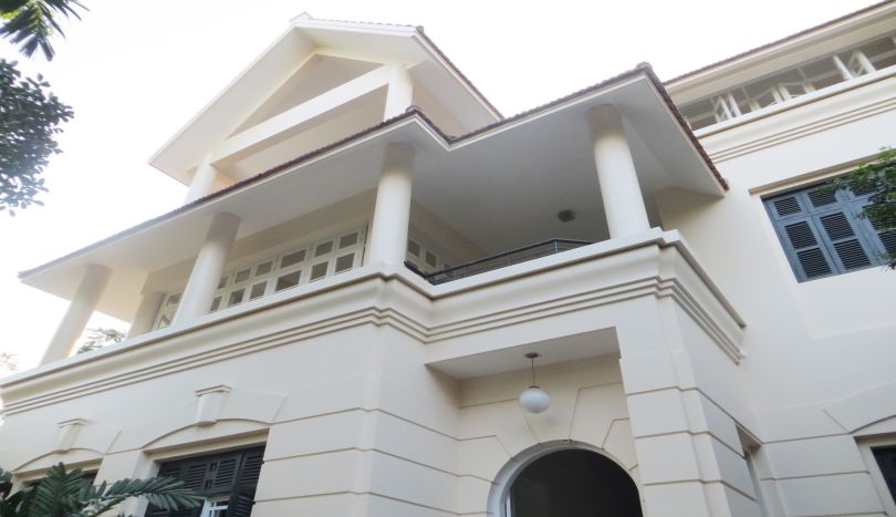 Partly furnished house for rent in Tay Ho, Hanoi