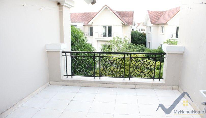 Partly furnished villa Vinhomes Riverside to rent Long Bien Hanoi