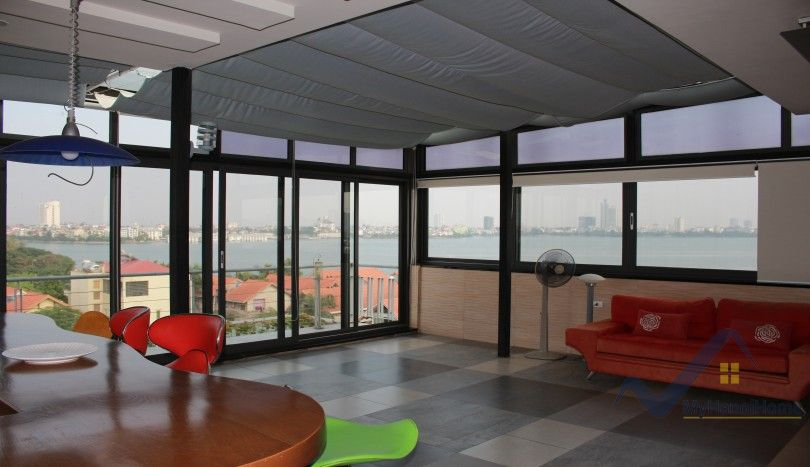 Penthouse in Tay Ho with Lake view 3 bedrooms furnished