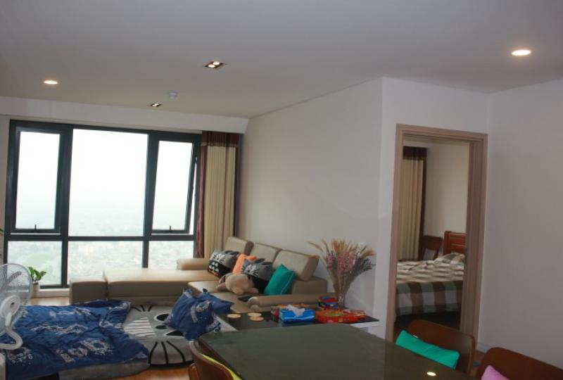 Red river view 2BR Mipec Long Bien apartment for rent
