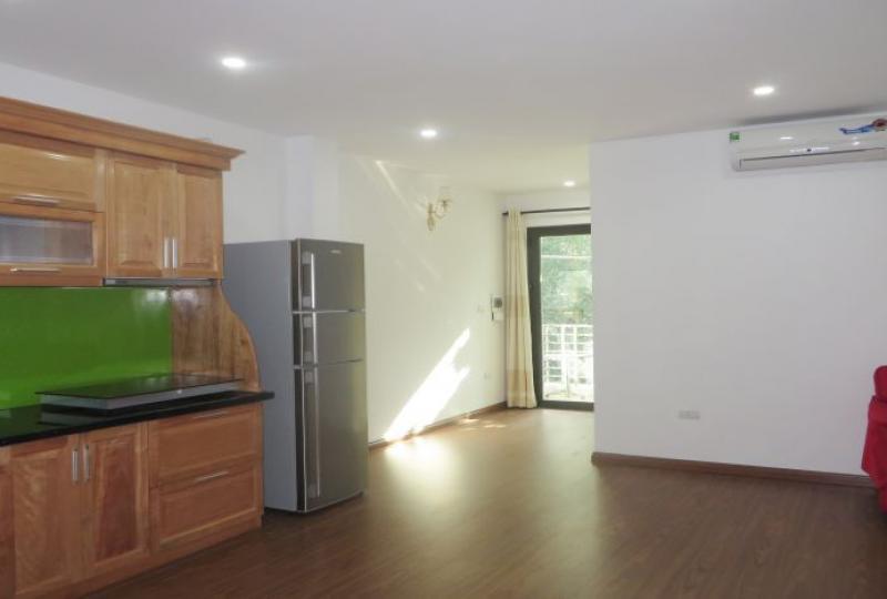 Refurbished 1 bedroom to let in Tay Ho area, airy living room