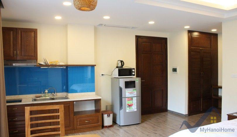 Renovated studio apartment in Tay Ho Hanoi to rent