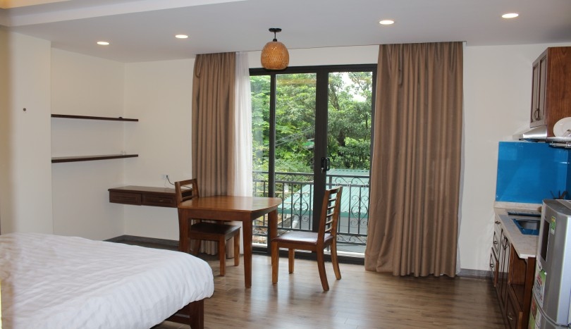 Renovated studio apartment in Tay Ho Hanoi to rent