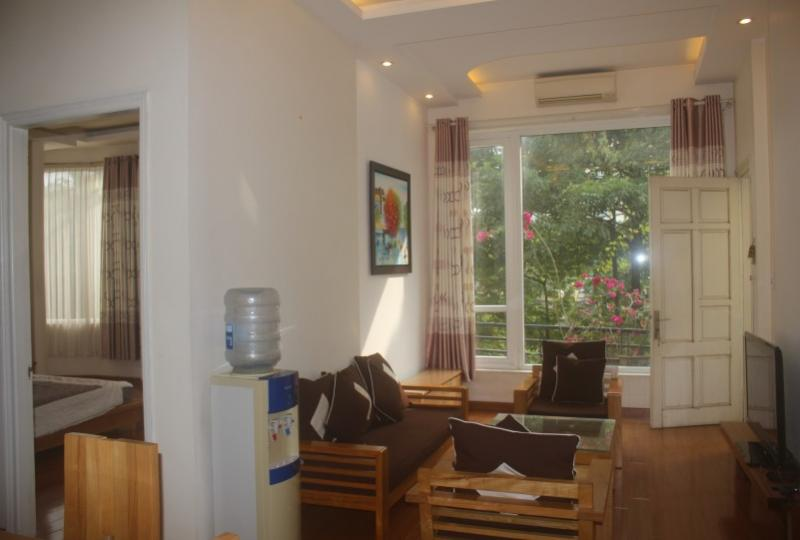 Rent 2 beds 2 baths apartment in Truc Bach Hanoi with Balcony