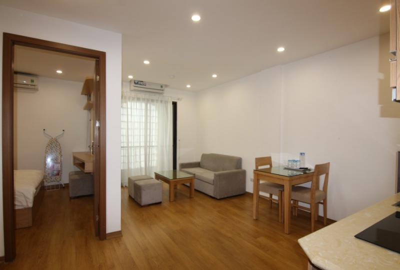 Rent a furnished One bedroom apartment in Truc Bach Hanoi