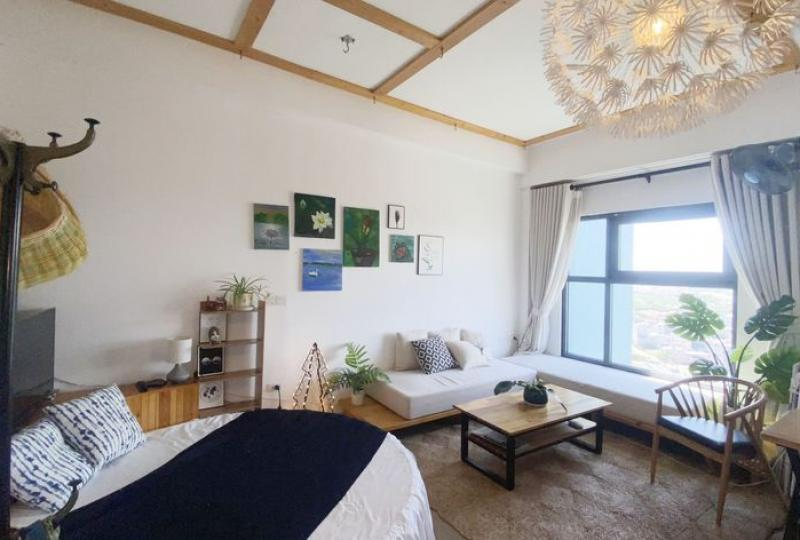 Rent apartment in Ecopark Hanoi on Westbay 1bed 1bath