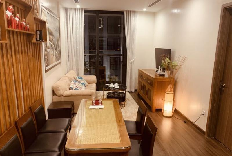 Rent apartment in Vinhomes Symphony Long Bien 2bed 2bath