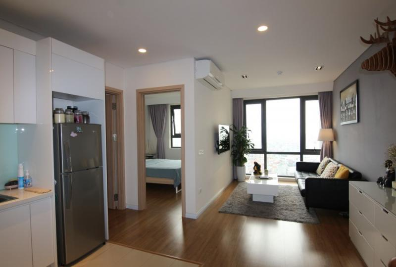 Rent awesome 2beds 2baths apartment in Mipec Long Bien furnished