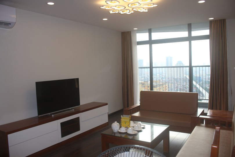 Rent Discovery Complex apartment in 302 Cau Giay 2 bedrooms furnished