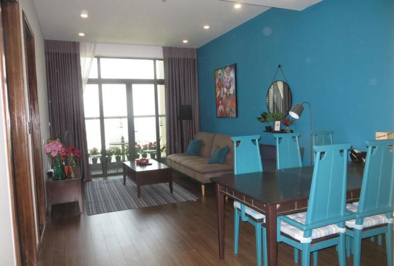 Rent furnished apartment in Sun Grand City Luong Yen 2 bedrooms