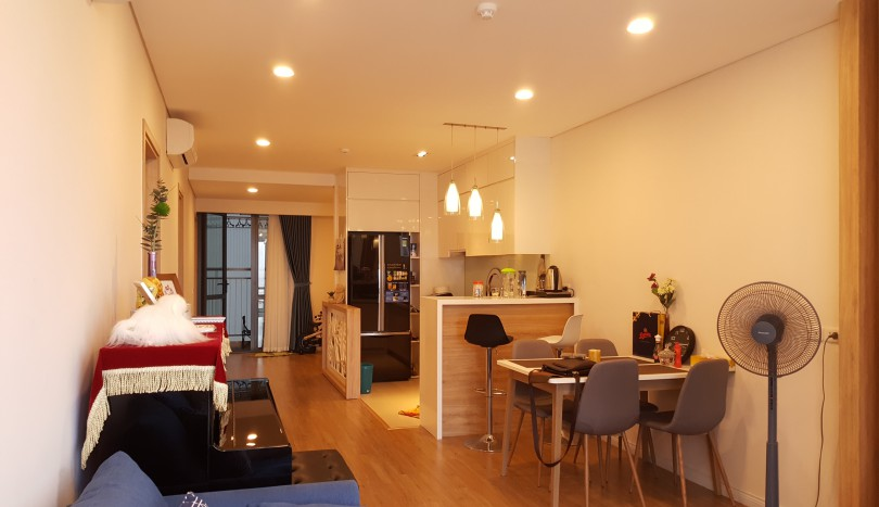 Rent Mipec Riverside apartment in Long Bien district 02 beds furnished