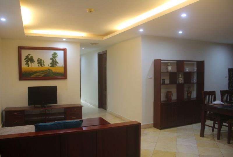 Rent serviced 2 bedroom apartment in Hoan Kiem district Hanoi