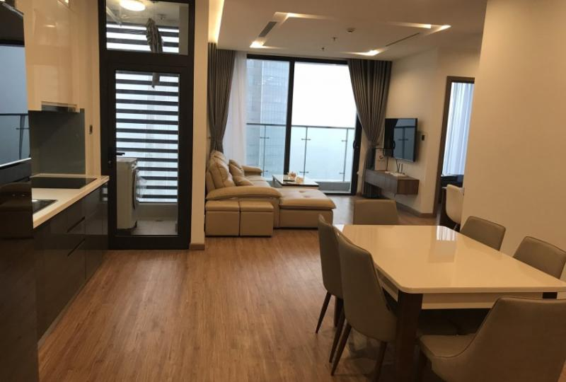 Rental furnished Two bedroom apartment in Vinhome Metropolis Lieu Giai