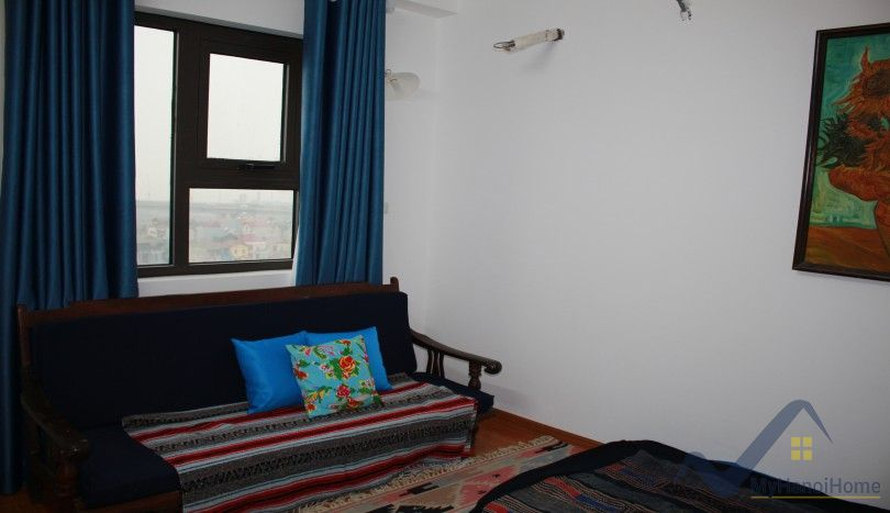 River view 2 bedroom apartment for rent in Packexim Tay Ho