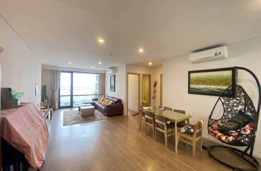 River view 3 bedroom apartment for rent in MIPEC Riverside furnished