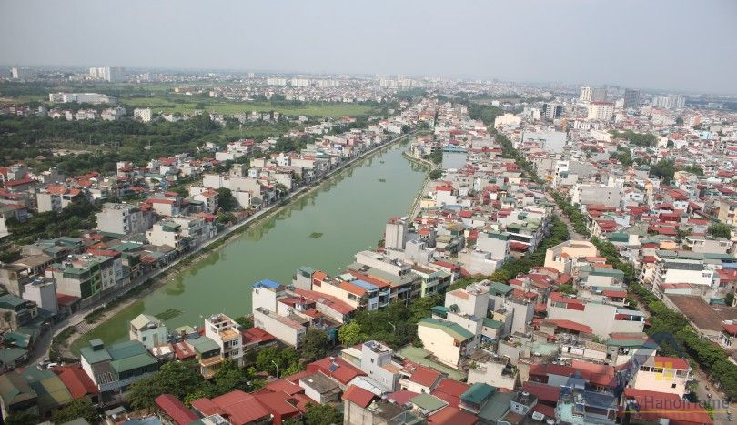 River view Mipec Riverside apartment for rent 03 beds furnished