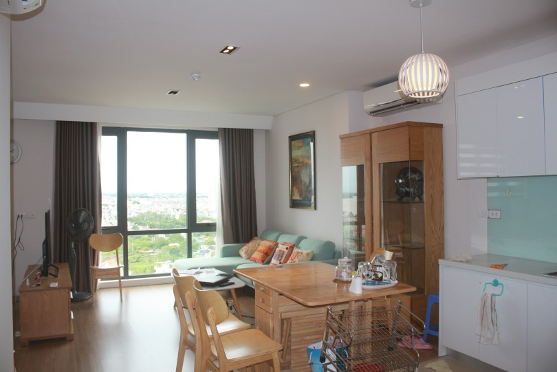 River view one bedroom apartment to lease in Mipec Riverside Hanoi