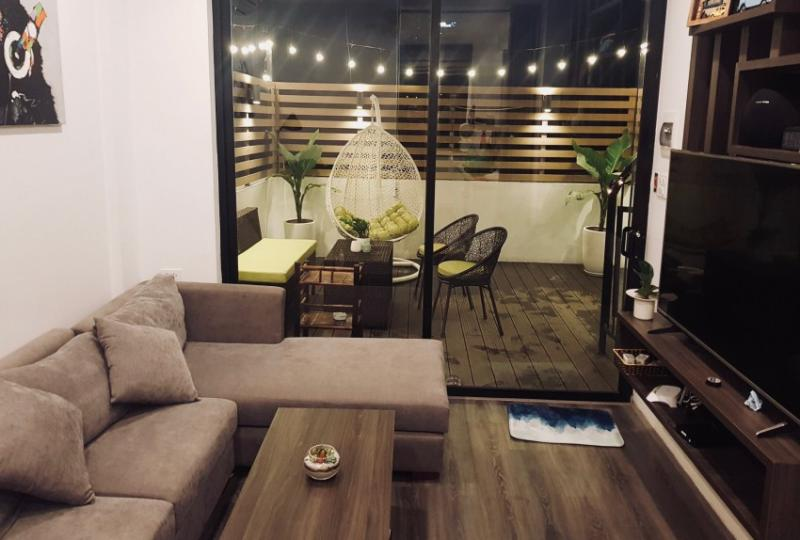 Rooftop duplex apartment in Hoan Kiem 2 bedrooms