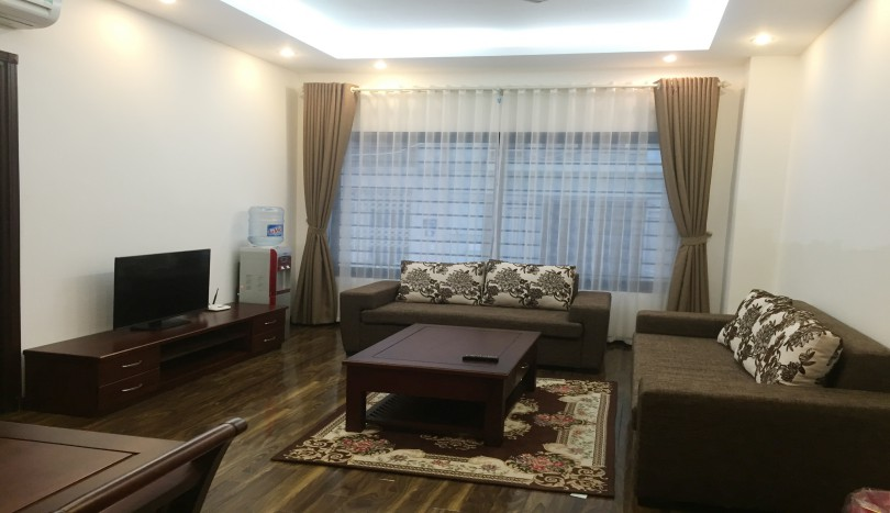 Serviced 1 bedroom apartment for rent in Hoang Quoc Viet, Hanoi